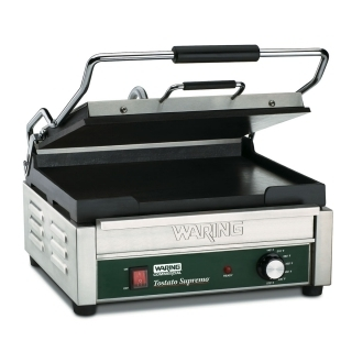 Grill Panini plaque lisse WARING WFG250E