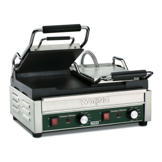 Grill Panini double surface de cuisson lisses WARING WFG300E