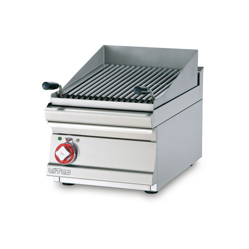 GRILLADE TRIPHASE - GRILLE INOX CM. 38X42,5