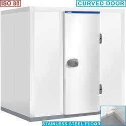 Chambre ISO 80, dim. int. 2140x2140xh1950 mm (8930 litres)