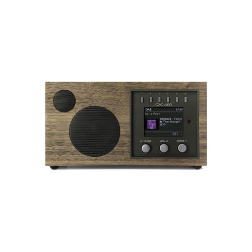 Radio Solo Walnut Como Audio (FM.DAB.DAB+.WiFi.Bluetooth)