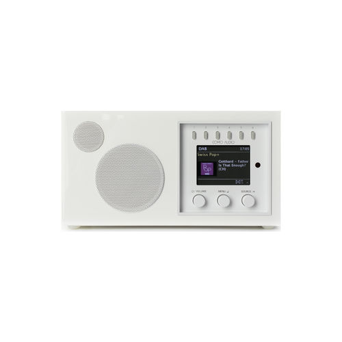 Radio Solo Piano White Como Audio (FM.DAB.DAB+.WiFi.Bluetooth)