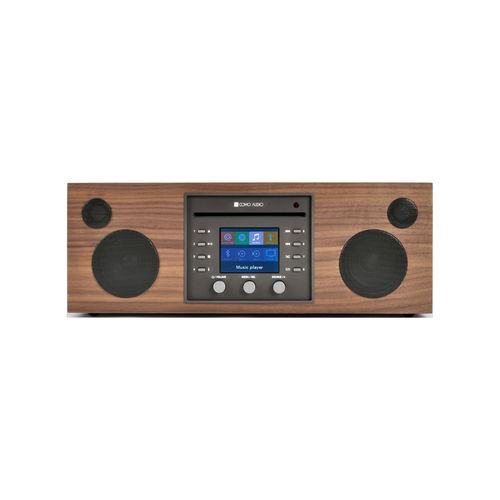 Systeme Audio Musica Walnut Como Audio (CD.FM.DAB.DAB+.WiFi.Bluetooth)