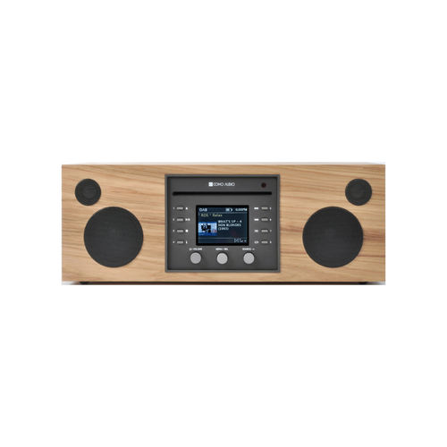 Systeme Audio Musica Hickory Como Audio (CD.FM.DAB.DAB+.WiFi.Bluetooth)