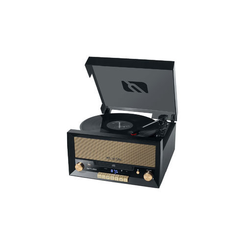 Radio Vintage FM CD Vinyle (USB.Bluetooth) MT-110B Muse