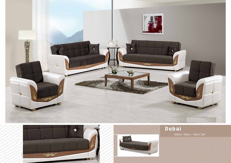 Salon DUBAI (Beige Marron)