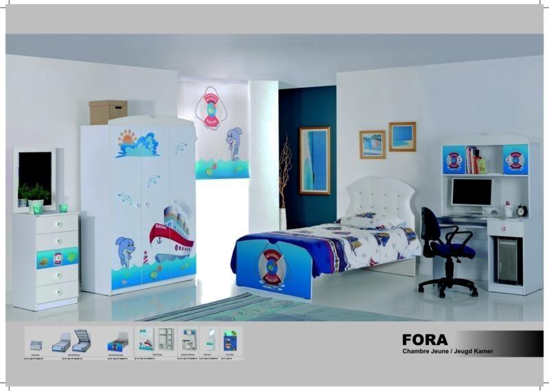 Chambre à coucher enfant FORA